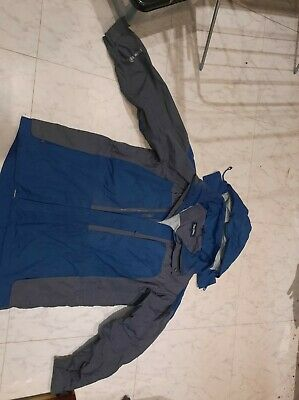 £4 • Buy Peter Storm Blue And Grey Waterproof Jacket - Size Large