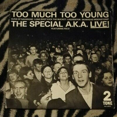 £9.99 • Buy The Special Aka (specials) Too Much Too Young 7  Vinyl Rare Ska Two Tone 1980