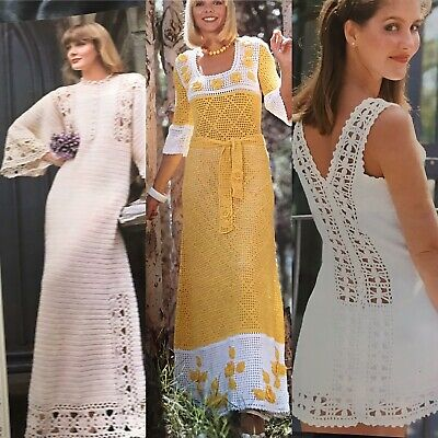 £3.79 • Buy 1970s Lace Dress Chair Mickey Mouse Dog Bird Coat Womans Weekly Knitting Pattern
