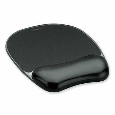 £4 • Buy Fellowes Crystal Gel Mouse Pad With Wrist Rest (Black)