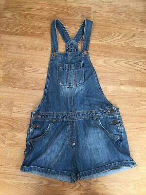 £1 • Buy Girls Short Denim Dungarees From Next Aged 10 Years
