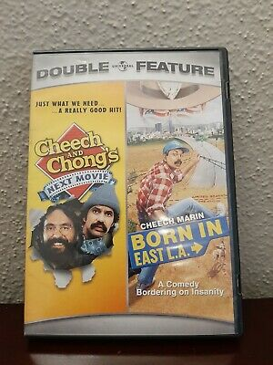 £9.42 • Buy Cheech And Chong's Next Movie / Born In East L.A. (DVD)