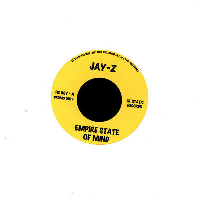 £21.47 • Buy JAY-Z - Empire State Of Mind/99 Problems 7  Vinyl Hip Hop 45 New Rare!
