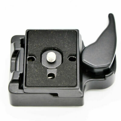 £6.99 • Buy Quick Release QR Clamp Clip Bracket + Adapter Plate For Tripod Monopod Head