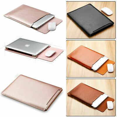 AU24.99 • Buy AU For Macbook Air Pro 13  2016~2020 Leather Sleeve Pouch Laptop Bag Case Cover