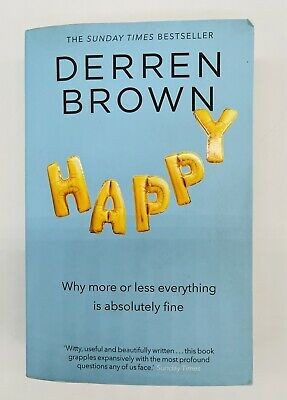 £4.99 • Buy Happy Why More Or Less Everything Is Absolutely Fine Paperback Book Derren Brown