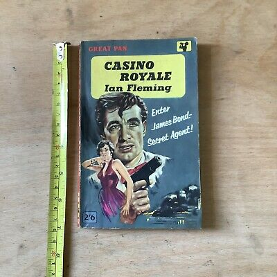 £4 • Buy 1961 Great Pan PB Book - Casino Royale By Ian Fleming - See Description