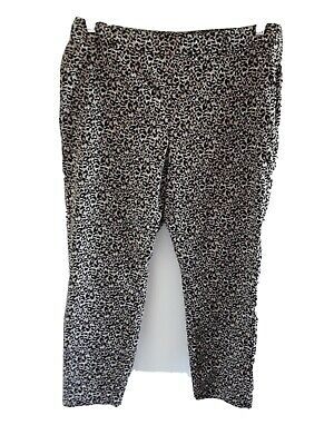 £2 • Buy Ladies Animal Print Trousers By Next Size 16