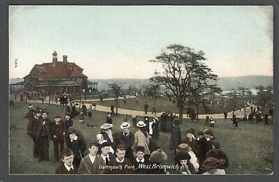 £4.99 • Buy Postcard West Bromwich Nr Walsall Children In Dartmouth Park Early Wrench Series