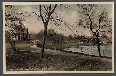 £6 • Buy Postcard West Bromwich Nr Walsall The Lake In Dartmouth Park Early View