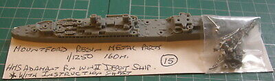 £12.49 • Buy HMS Adamant RN WWII Depot Ship By Mountford, Scale 1/1250  Ship Model