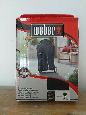 $ CDN69.16 • Buy Weber 7141 Premium Grill Cover Waterproof BBQ Cover Charcoal Kettle 18  / 47cm