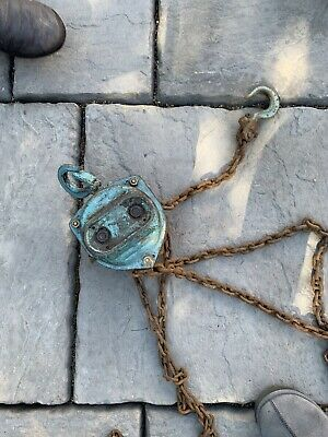£5 • Buy 1Ton Chain Puller Block And Tackle 3 Meter