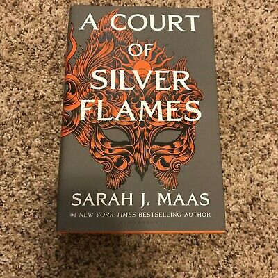 $19.99 • Buy A Court Of Silver Flames By Sarah J. Maas -  Bestselling Author