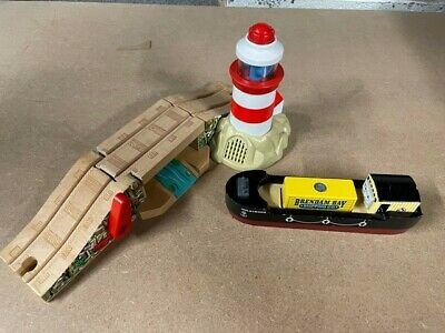 £60 • Buy Thomas & Friends Wooden Bulstrode And Lighthouse & Sounds RARE