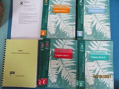 £20 • Buy Open University Exploring Mathematics MS221Course Books And Other Materials