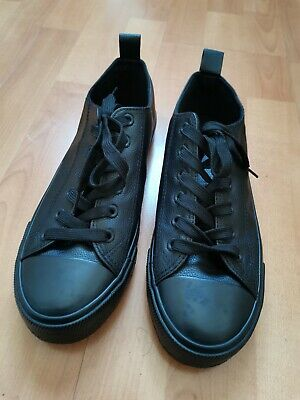 £3.50 • Buy Primark Women's Black Faux Leather Trainers UK 6