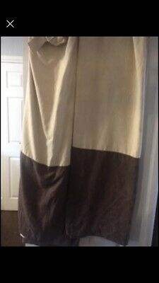 £3 • Buy Tab Top Curtains With Tie Backs 90 Drop