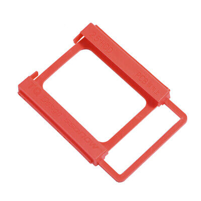 AU8.03 • Buy 2.5to3.5 Inch SSD To HDD`Screw-less Mounting Adapter Bracket Hard Drive HolderEH