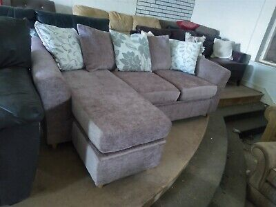£249 • Buy Small Compact Corner Sofa With Storage Left Or Right Hand Delivery Poss
