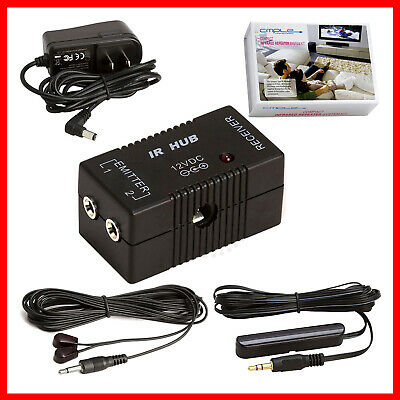 £24.84 • Buy IR Extender Compact Infrared Repeater Kit System IR Emitters