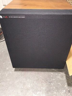 $349.99 • Buy Vintage Audio Pro Ace Bass B2-50 MK 2 Subwoofer Walnut  LOCAL PICKUP ONLY