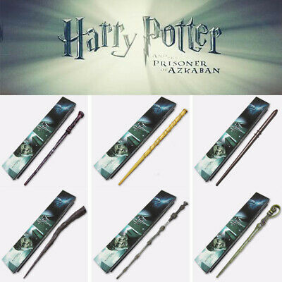 £8.89 • Buy Harry Potter Dumbledore Voldemort Hermione Magic Wand Collection Cosplay + Box