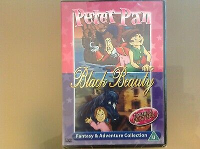 £4.99 • Buy Peter Pan / Black Beauty Dvd - Double Feature - Brand New And Sealed
