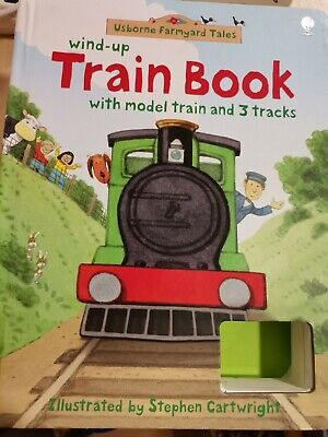 £5 • Buy Usborne Farmyard Tales Wind Up  Train Book With Tracks By Stephen CATWRIGHT.