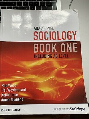 £10 • Buy A Level Sociology Aqa - Book One & Book Two