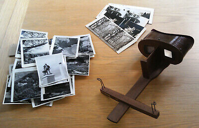 £33 • Buy Antique Stereoscope Stereoscopic 3D Viewer Plus 3D Pictures