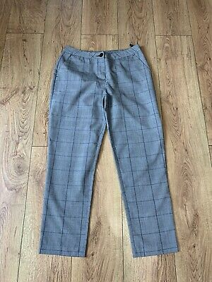 £0.99 • Buy Ladies New Look Checked Trousers Size 10