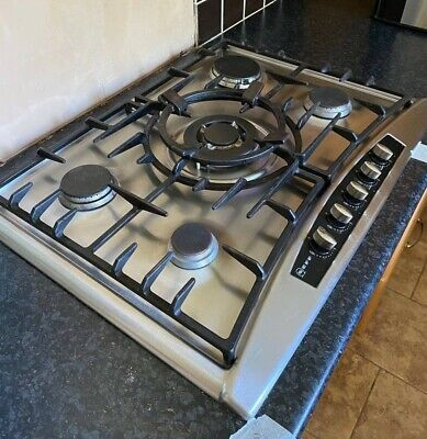 £25 • Buy NEFF Gas Hob Good Used Condition Stainless Steel 5 Burners