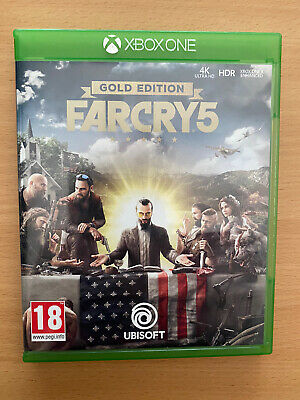 AU22.12 • Buy Far Cry 5 Gold Edition Xbox One Very Good Condition Free Fast Post.