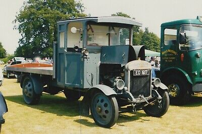 £0.75 • Buy Classic Thornycroft Truck On A Photo Photograph Vehicle Lorry Picture Ed1617.