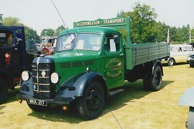 £1.25 • Buy Bedford Classic Truck Photo Mkk217 Photograph Lorry Vehicle Picture A.c.divine..
