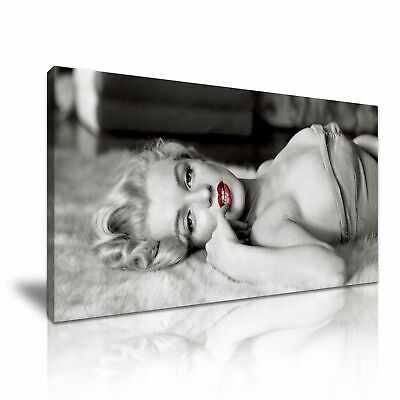 £22 • Buy Marilyn Monroe CANVAS WALL ART PICTURE 20X30 INCHES