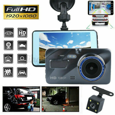 AU47.29 • Buy Front And Rear Car Dash Camera Dual Camera Dash Cam Video DVR Recorder FHD Touch