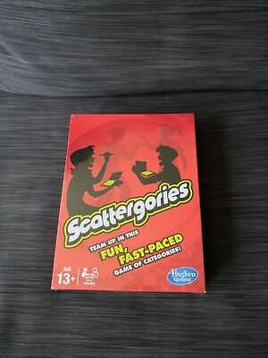 £16.95 • Buy Scattergories: Family Board Game By Hasbro (2013 Edition) New & Sealed. Free P&P