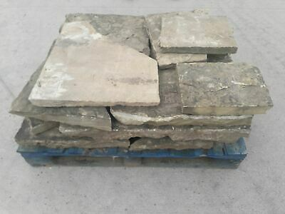 £30 • Buy Batch Of Reclaimed Yorkstone Crazy Paving Per Square Yard