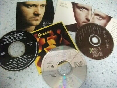 £5.99 • Buy 1 Genesis & 3 Phil Collins CDS  But Seriously Both Sides Hello I'm Going WALLETS