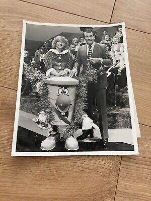 £15 • Buy Ted Rogers And Dusty Bin - Rare Original Press Photograph. 3-2-1