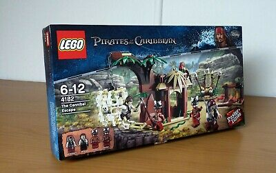 £50 • Buy LEGO  - Pirates Of The Caribbean - The Cannibal Escape - 4182 - Sealed - 6-12