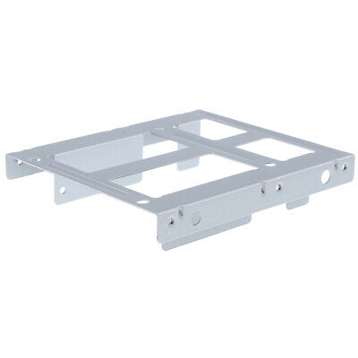 AU9.68 • Buy 1Pack 2.5  To 3.5  Hard Drive Adapter Dual HDD SSD Mounting Bracket White