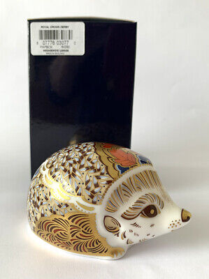 £69.95 • Buy Royal Crown Derby Boxed 1st Quality Paperweight 'Hawthorn Mother Hedgehog '(2)
