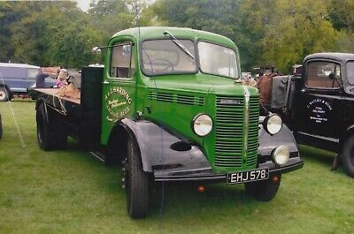£0.75 • Buy Bedford Truck Photo Photograph A&j Harding Flatbed Classic Lorry Picture Ehj578.