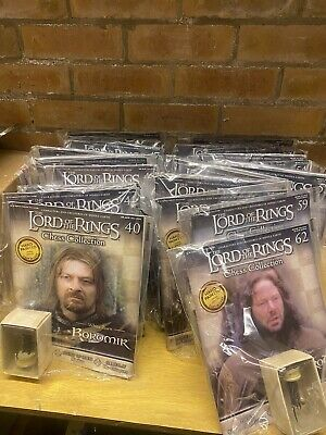 £300 • Buy NEW SEALED LORD OF THE RINGS COLLECTORS CHESS SET MAGAZINES All Issues Available