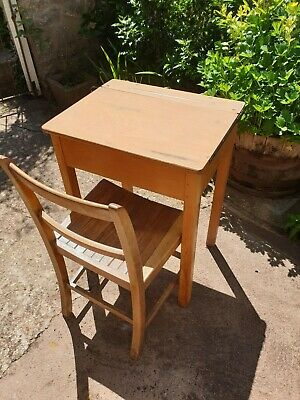 £35 • Buy Old School Desk And Chair