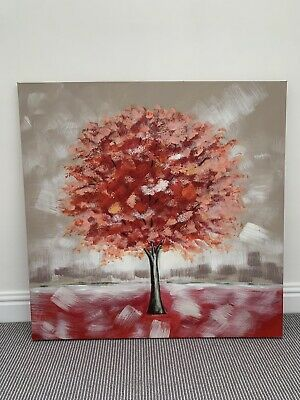 £12.50 • Buy Next Wall Art Canvas Red Tree