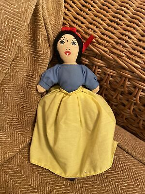 £10.99 • Buy SMALL TOPSY TURVY REVERSIBLE SNOW WHITE DOLL WITH QUEEN & WITCH (a16)